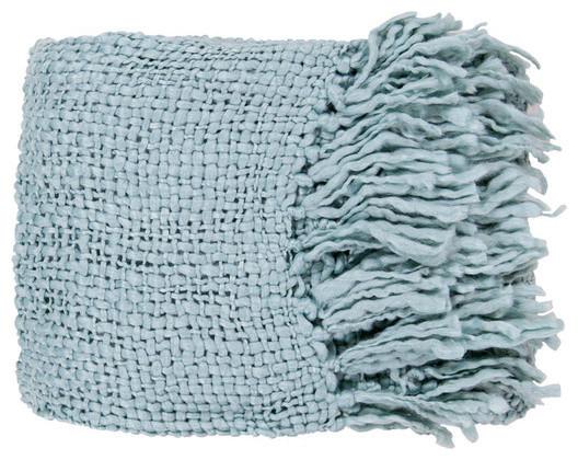 Tobias Throw Blanket in Blue