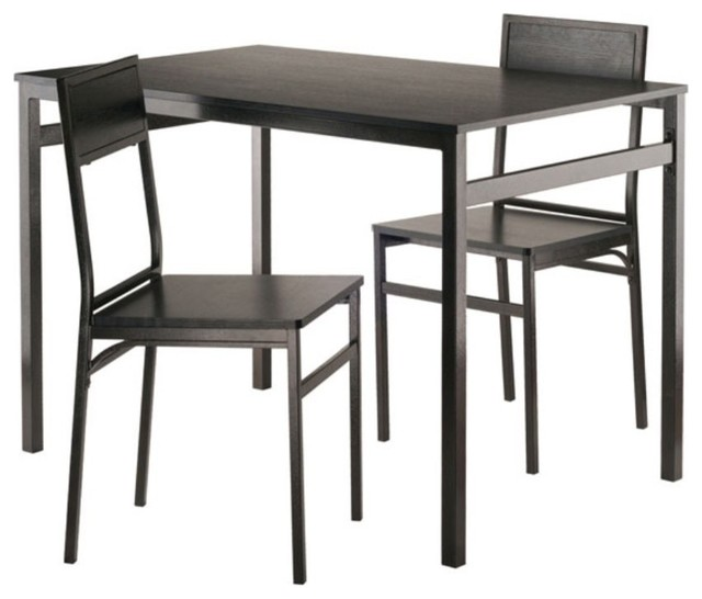 Milton 3-Piece Set Dining Table With Chairs.