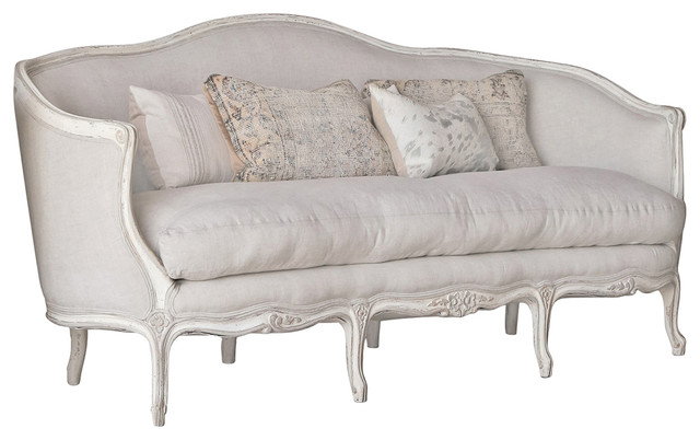 Eloquence Seraphine Canape Sofa In Gesso Oyster