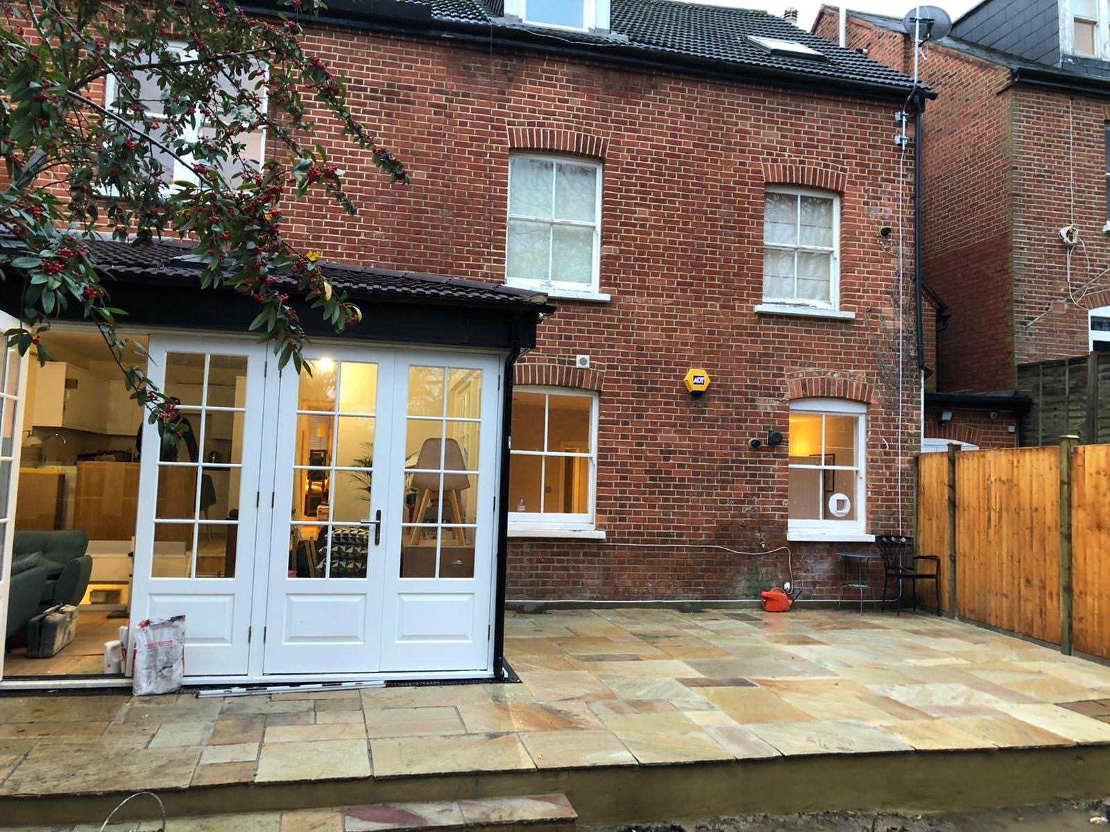 Single storey rear extension & basement - Dulwich