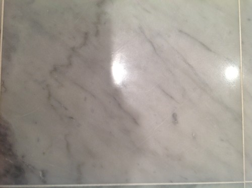 Scratches On My New Marble Floor!!