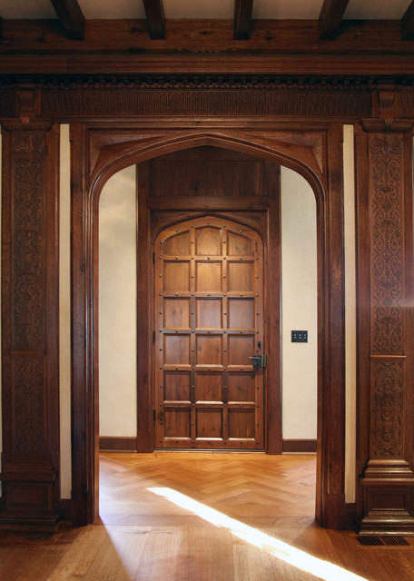 Jacobean Transitional Door
