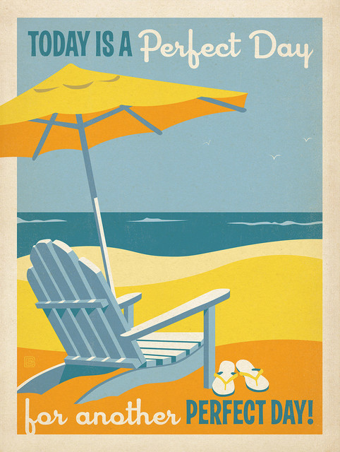 Another Perfect Day Gallery Art Print 18quotx24quot Beach  : beach style prints and posters from www.houzz.com size 482 x 640 jpeg 106kB