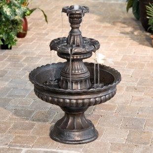 Garden Classic Three-Tier Fountain