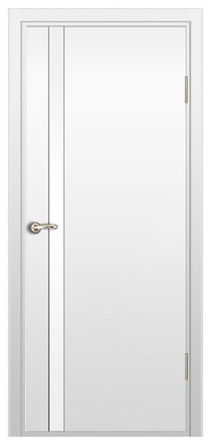 Milano 340 White Laminate Interior Door Contemporary Interior