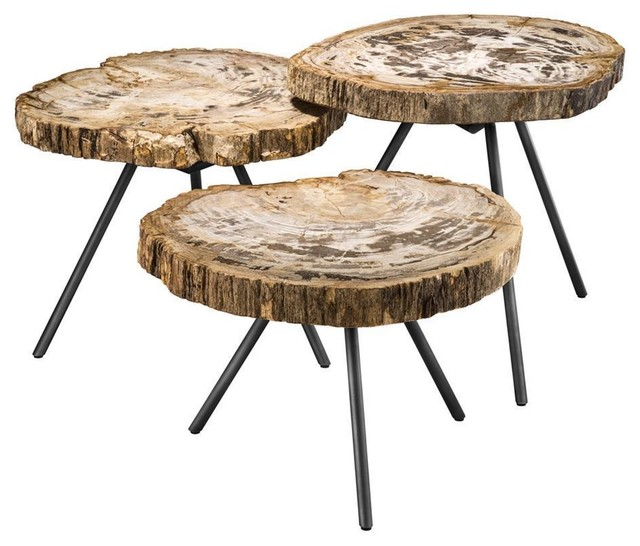 Brown Coffee Table Set Eichholtz De Soto Rustic Coffee Table