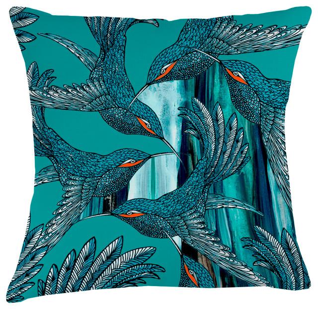 Paradise Velvet Cushion, Dimensions