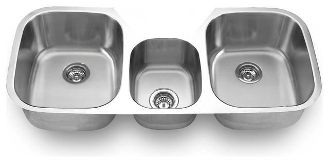 Undermount Triple Bowl Sink - Kitchen Sinks - by SFC Center Inc