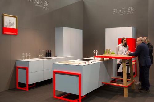 Stand von Stadler Manufaktur auf der imm cologne 2017