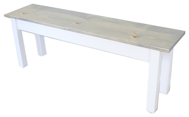 Cottage Bench Farmhouse Indoor Benches By Ezekiel Stearns