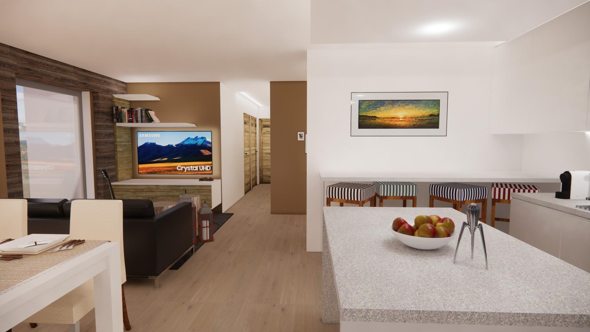 design di interni chalet di montagna