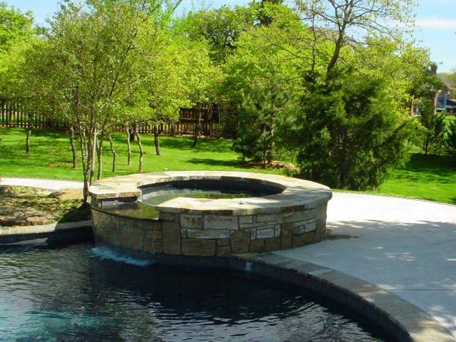 Gunite And Vinyl Liner Pools Modern Oklahoma City By
