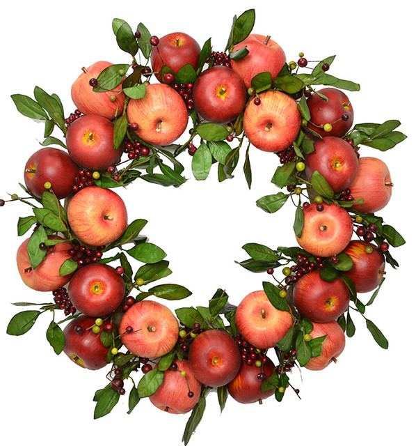 "23"" Apple Wreath"
