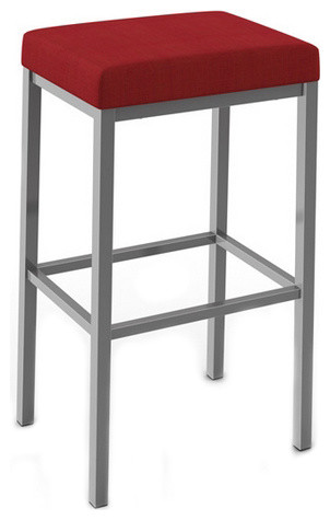Backless Non Swivel Stool Modern Bar Stools And