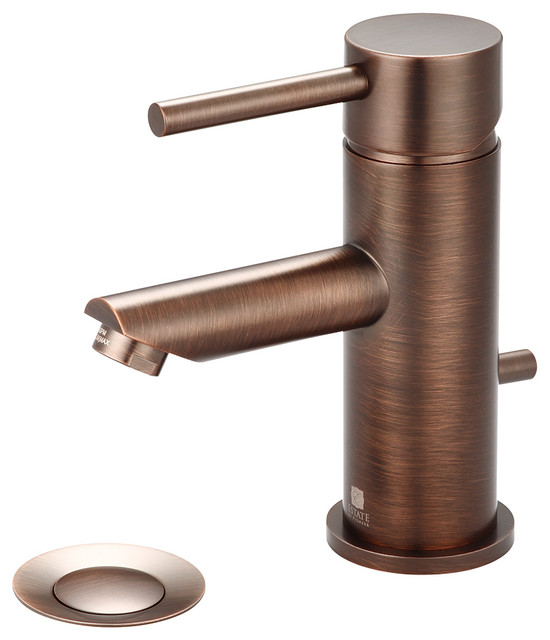 Single Handle Lavatory Faucet Pvd Brushed Nickel Bathroom Sink Faucets By Pioneer
