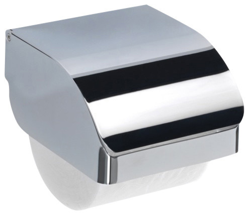 Chrome Stainless Steel Commercial Toilet Paper Holder - Contemporary ...