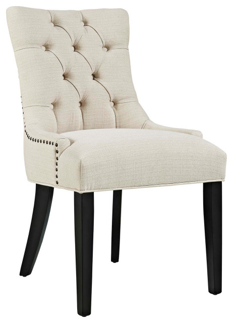 Regent Tufted Fabric Dining Side Chair