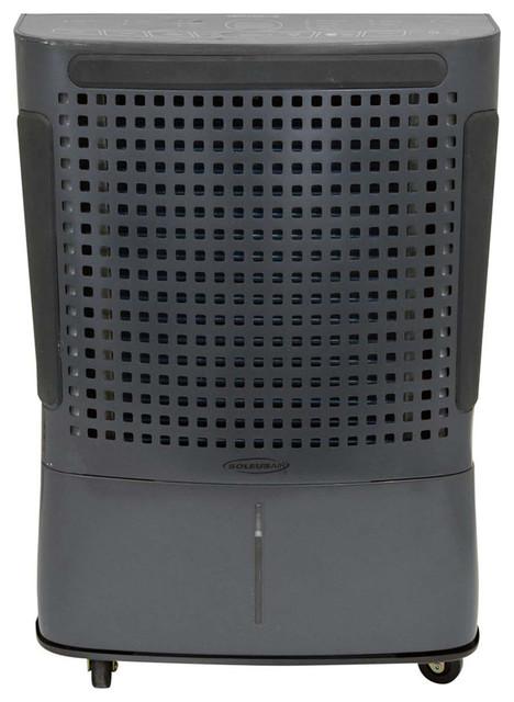 115-Pint Portable Dehumidifier With Internal Pump, Black.