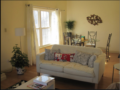 need help with color for living room walls white furniture