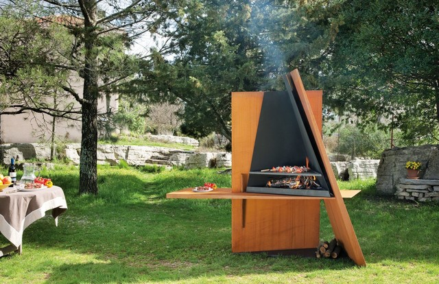 BARBECUES DESIGN / DESIGN BARBECUE - Contemporain - Jardin ...