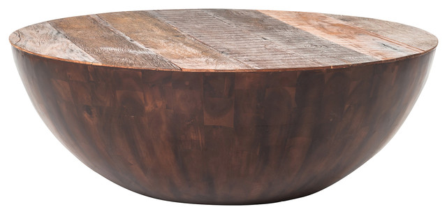 Ryan Reclaimed Wood Round Coffee Table