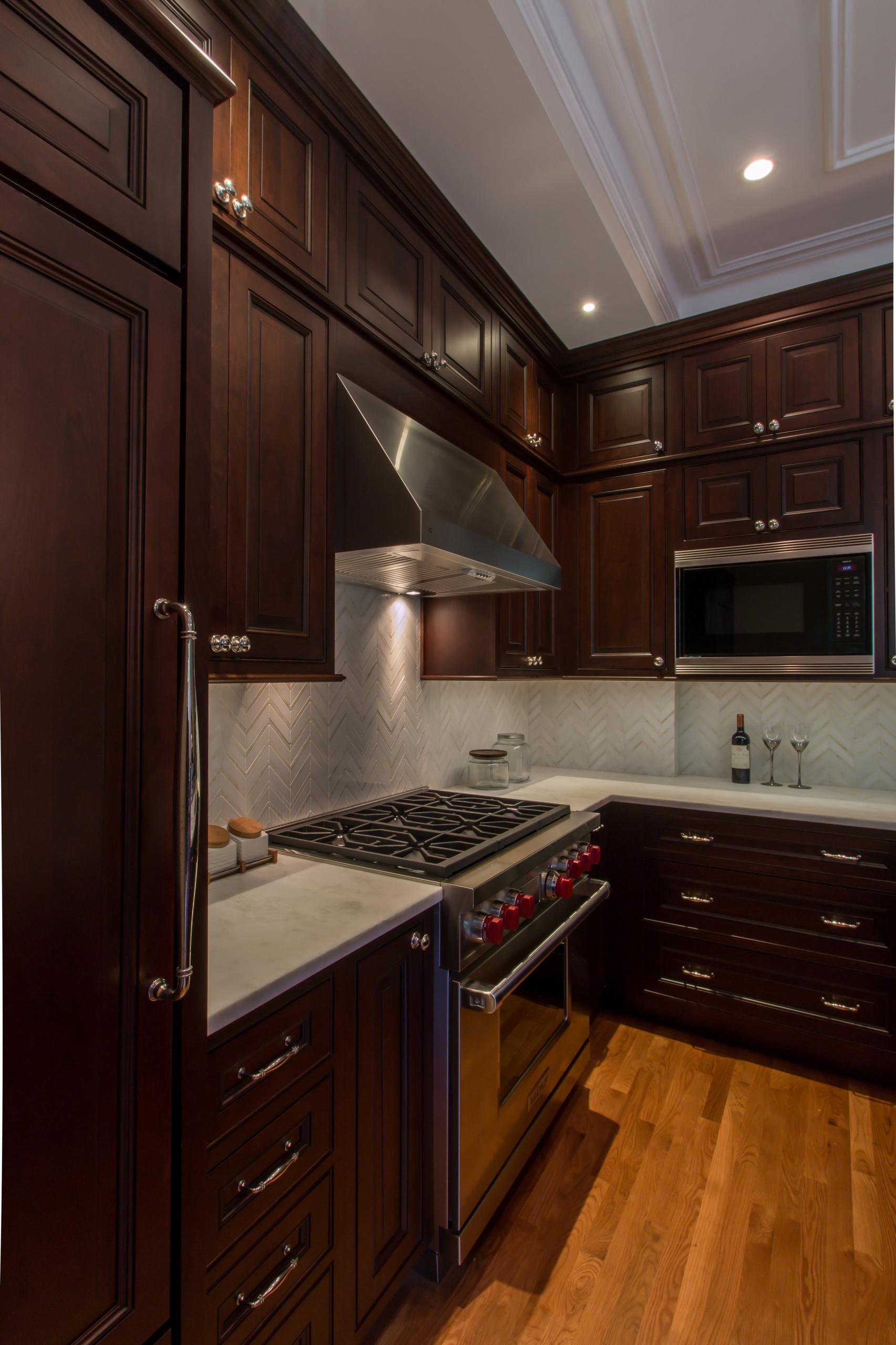 Boston, MA Traditional Cherry Kitchen