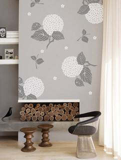 Stencils, Stencil Supplies, Stenciling and Decorating Tips. Royal Design Studio contemporary living room