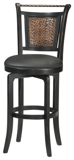 Hillsdale Norwood Swivel Stool Traditional Bar Stools