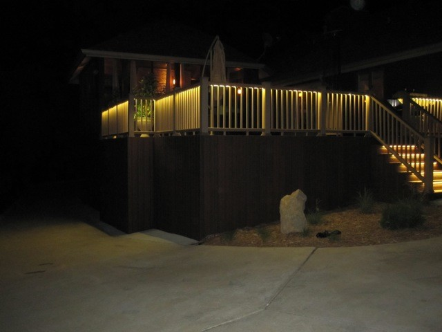 Deck and Balcony Design with LED Lighting traditional-porch & Deck and Balcony Design with LED Lighting - Traditional - Porch ... azcodes.com