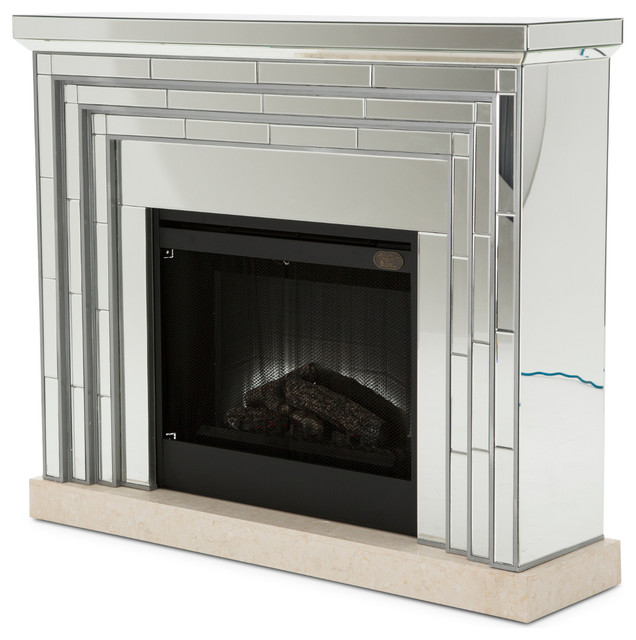 Aico Montreal Fireplace With Firebox Insert.