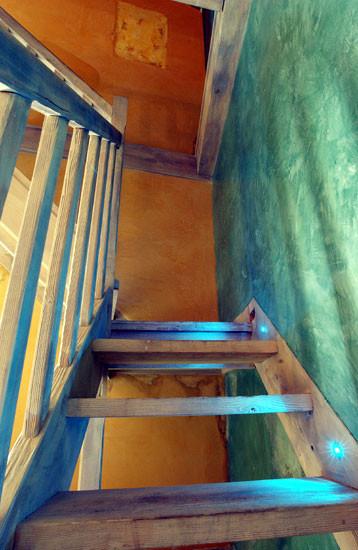 Oeuvres murales/patine et effet abîmé mezzanine