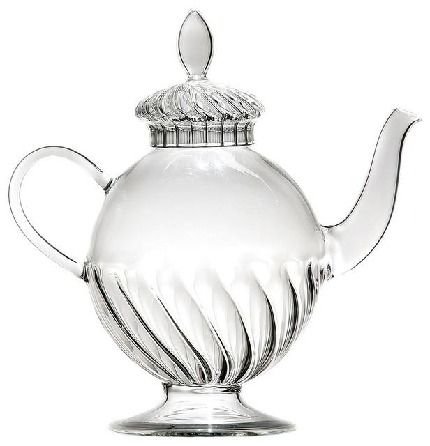 Arabesque 1-Litre Glass Teapot