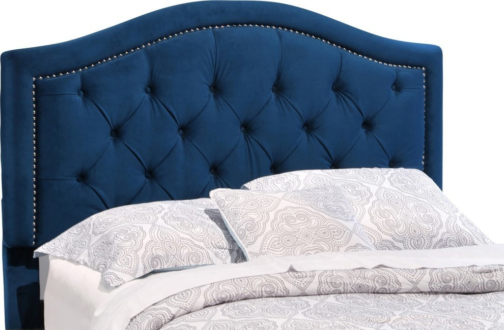 Abbyson Living Tucson Tufted Headboard Full Queen Transitional Headboards By Homesquare