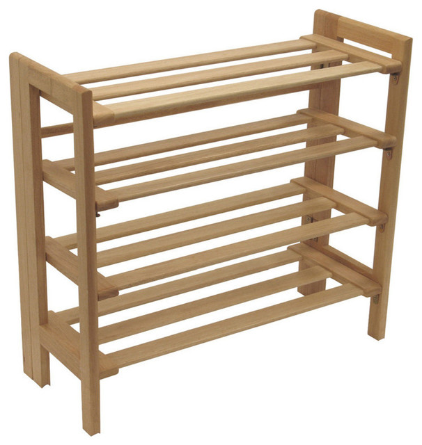 Clifford Foldable Shoe Rack Traditional Shoe Storage