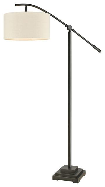 Fann 1 Light Floor Lamp in Oil Rubbed Bronze