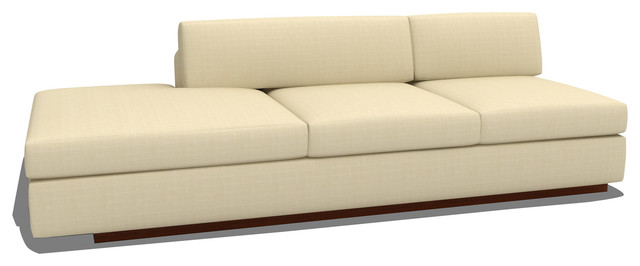 modern armless sofa armless sofa bed double sofabed with