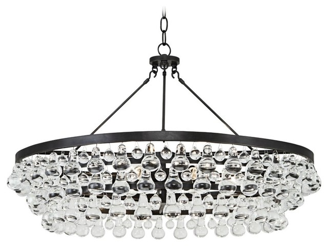 Robert abbey bling collection large deep bronze chandelier robert abbey bling collection large deep bronze chandelier aloadofball Image collections