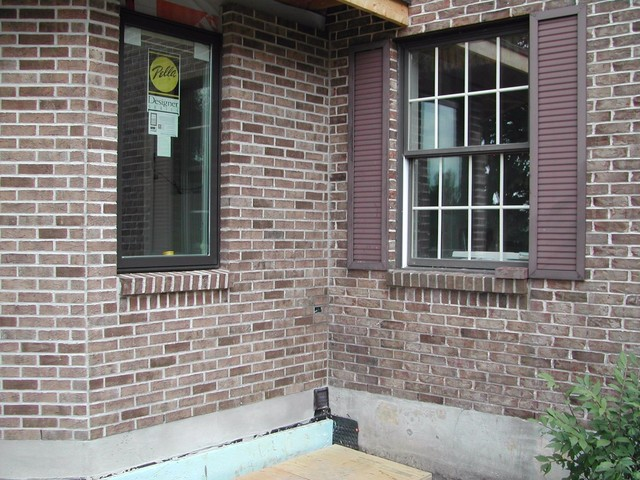Brick staining for Staining brick exterior pictures