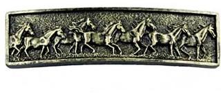 Lifestyles Running Horse Pull - Bronzed Black (SIE-681490) - Cabinet ...