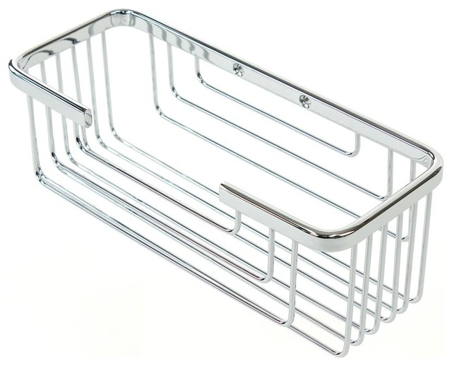 Chrome Wall Mounted Shower Caddy contemporary shower caddies. Chrome Wall Mounted Shower Caddy   Contemporary   Shower Caddies