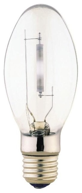 Satco S3131 2100K 50-Watt Clear Medium Base ED17 High Pressure Sodium Lamp