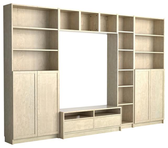 Billy/Benno TV Storage Combination - Modern - Entertainment ...