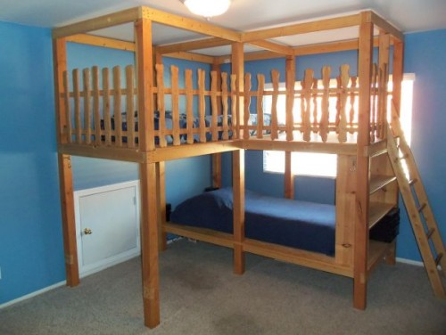 Co ed kids bed for 5 yr old beds