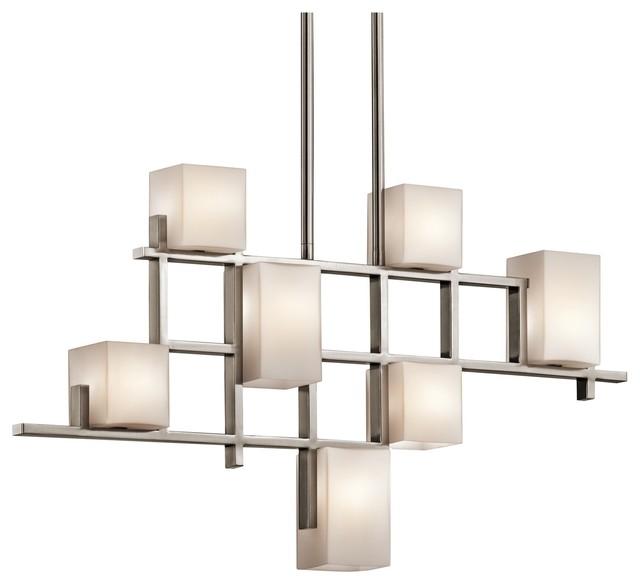 7-Light Linear Chandelier