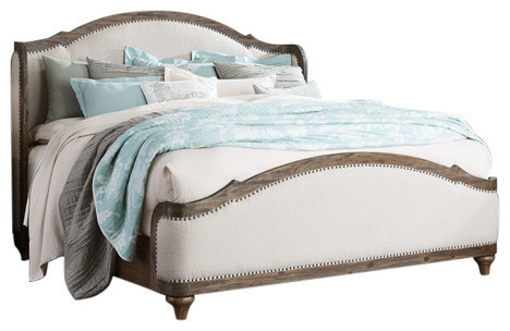 parliament upholstered platform bed with slats queen beds
