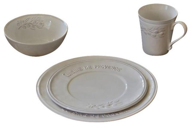 Cuisine de Provence Dinnerware Set  sc 1 st  Houzz & Cuisine de Provence Dinnerware Set - Rustic - Dinnerware Sets - by ...
