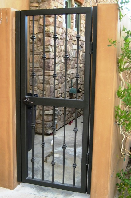 Metalwork: Mediterranean Black Gate