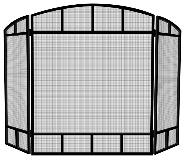 3-Panel Black Mission Screen.