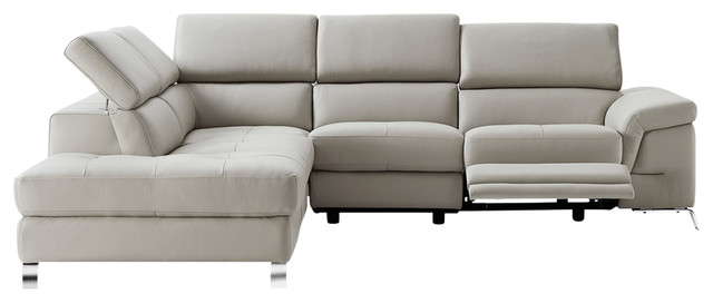 Madison Sectional, Gray.