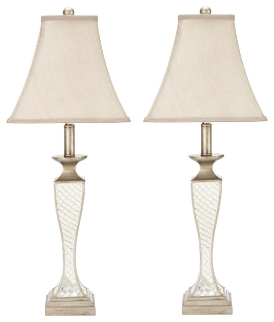 Safavieh Edith Glass Table Lamps, Set of 2